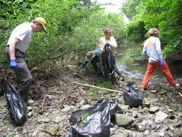 Earth Day Clean Up - Reidy Creek - Escondido - Apr 21